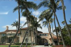 Recurso no Palm Beach, Florida de março-um-Lago Imagens de Stock Royalty Free