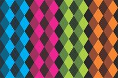 Recurso plano del gráfico de vector de la textura colorida del modelo del fondo Imágenes de archivo libres de regalías