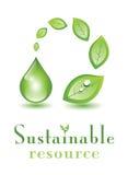 Recurso sostenible Foto de archivo libre de regalías