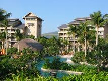 Recurso tropical Foto de Stock Royalty Free