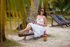 Recurso tropical Imagens de Stock