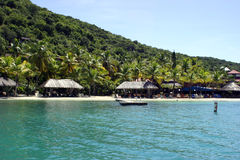 Recurso tropical idílico Fotos de Stock