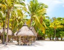 Recurso turístico Cerfs da ilha auxiliar de Ile Imagens de Stock Royalty Free
