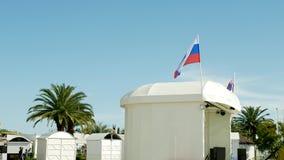 Recursos da regi?o de Krasnodar, a terraplenagem central de Sochi 12 de maio de 2019 editorial fotos de stock