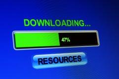 Recursos de la transferencia directa imágenes de archivo libres de regalías