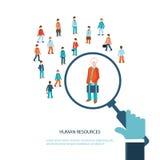 Recursos humanos Ilustração do Vetor