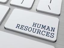 Recursos humanos. Conceito do negócio. ilustração stock