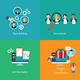 Recursos humanos do desenvolvimento de equipas Imagem de Stock Royalty Free