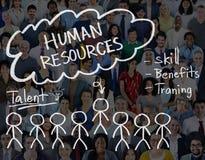 Recursos humanos que contratan a Job Occupation Concept Imagenes de archivo