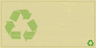 Recyclabe horizontal invitation Royalty Free Stock Photography