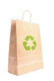 Recyclable бумажный мешок Стоковое Изображение RF
