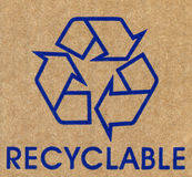 Recyclable Royalty Free Stock Image
