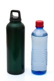 Recyclable alternative to plastic for bottle water Royalty Free Stock Images