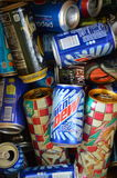 Recyclable cans Royalty Free Stock Photos