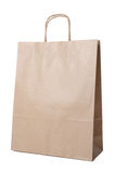 Recyclable paper bag Royalty Free Stock Photography