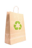 Recyclable paper bag Royalty Free Stock Image