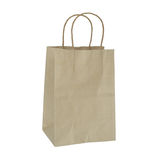 Recyclable paper bags Stock Photography