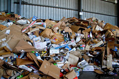 Recyclable paper & cardboard Stock Images