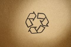 Recyclable Symbol Stock Image