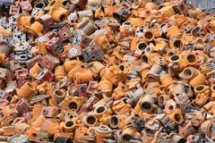 Recyclables del metal Foto de archivo libre de regalías