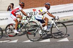 Recyclage - championnats 2009 du monde de route d'UCI Photographie stock