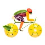 Recyclage de vélo de route. Photo libre de droits