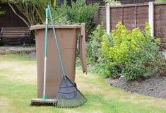 Recyclage des déchets III de jardin image libre de droits