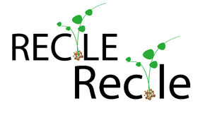 Recycle. Simple illustration of recycle concept Royalty Free Stock Photo