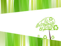 Recycle. Illustration of recycle concept background Royalty Free Stock Photo