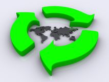 Recycle 2 Stock Images