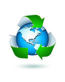Recycle. Clean earth protected ,ecology concept Stock Images