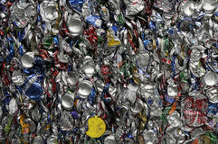Recycle. Thousands of can bundled together for recycling at a Florida landfill Royalty Free Stock Images