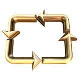 Recycle. 3D illustration vector illustration