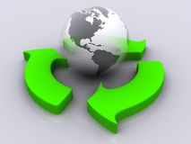 Recycle 4 Royalty Free Stock Photo