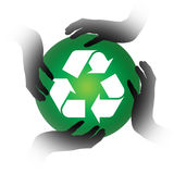 Recycle vector illustration
