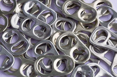 Recycle aluminum Stock Photo