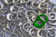 Recycle aluminum Stock Photography
