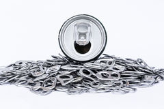 Recycle aluminum Royalty Free Stock Images