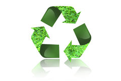 Recycle arrow Stock Photo