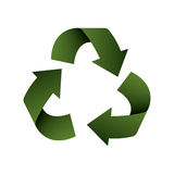 Recycle arrows ecology icon. Vector illustration design Royalty Free Stock Photo