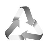 Recycle arrows icon image. Vector illustration design Stock Photo