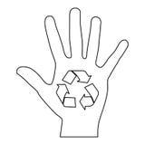 Recycle arrows icon image. Vector illustration design Stock Photo