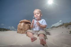 Recycle baby Stock Images