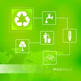 Recycle Background Royalty Free Stock Photo