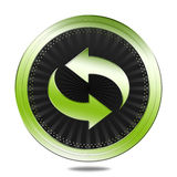Recycle badge Stock Images