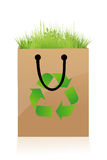Recycle bag Stock Images