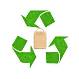 Recycle bag Stock Photography