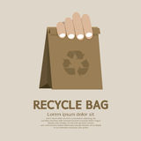 Recycle bag stock illustration