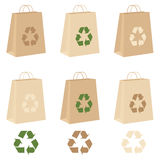 Recycle Bags Royalty Free Stock Images