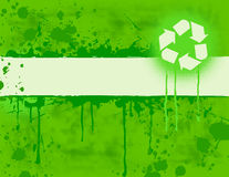 Recycle Banner Royalty Free Stock Image